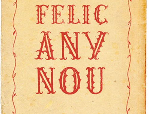 FELIÇ ANY NOU