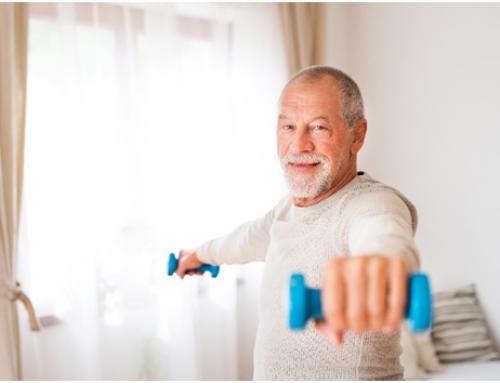 Un dispositiu que mesura la massa muscular de persones grans, entre els guanyadors del repte 'Fer anys amb salut'