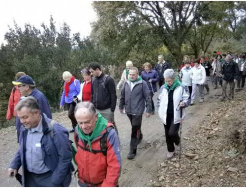 Sant Fruitós acollirà la primera caminada del cicle «A cent cap als 100» d'enguany