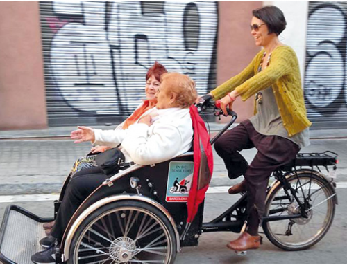 El projecte 'En bici sense edat' arriba a Barcelona