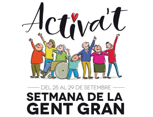 Sant Cugat celebra del 25 al 29 de setembre la setmana de la Gent Gran