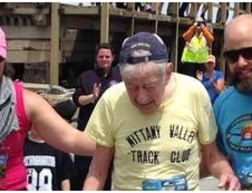 Vist a la xarxa. Sobrehumà als seus 97 anys