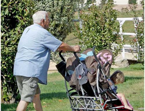 Només el 12% dels avis decideixen quan volen tenir cura dels seus nets
