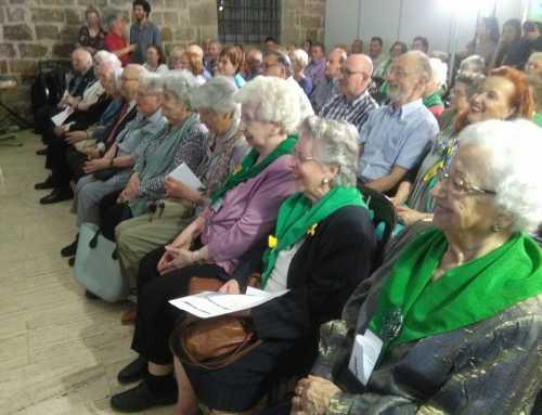 Homenatge de FiraGran a les persones de 90 o més anys que col•laboren en entitats de gent gran.