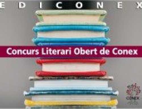T'agrada escriure? Participa al CONCURS LITERARI DE CONEX