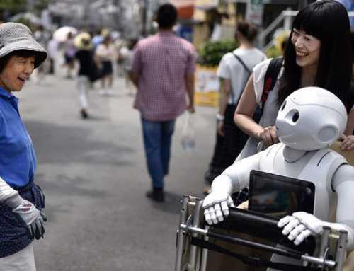 El govern nipó s'ha marcat l'any 2020 com a límit perquè el 80% dels avis acceptin cures de robots